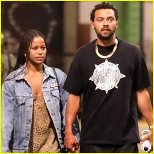 Jesse Williams & Girlfriend Taylour Paige Enjoy Romantic Stroll in Italy!