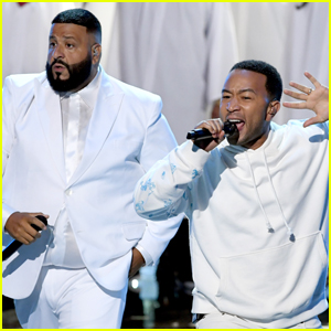 John Legend & DJ Khaled Pay Tribute to Nipsey Hussle at BET Awards 2019 - Watch Now