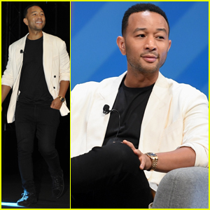 John Legend Unveils New Partnership with P&G at Cannes Lions Festival!