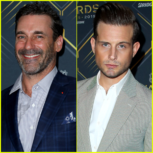 Jon Hamm & Nico Tortorella Suit Up for NHL Awards 2019