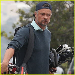 Josh Duhamel Hits the Golf Course in Los Angeles