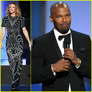 Julia Roberts, Jamie Foxx Hit The Stage at Denzel Washington's AFI Tribute!