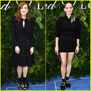 Julianne Moore & Marion Cotillard Step Out for Chopard Bond Street Boutique Reopening!