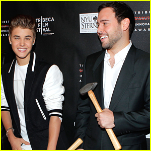 Justin Bieber Gave Manager Scooter Braun The Funniest Birthday Gift!