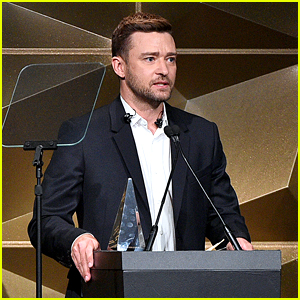 Justin Timberlake Praises Wife Jessica Biel During Speech at Songwriters Hall of Fame Event