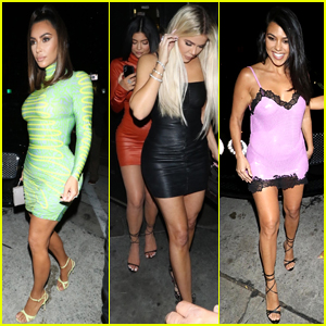 All the Kardashian/Jenner Sisters Went Out Together Last Night!