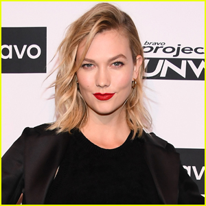 Karlie Kloss Laughs Off Pregnancy Speculation