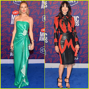 Kate Bosworth Gives Off Mermaid Vibes at CMT Music Awards 2019
