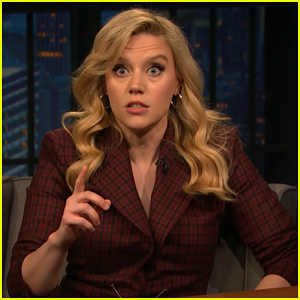 Kate McKinnon Nails Impression Of Marianne Williamson on 'Late Night' - Watch Here!