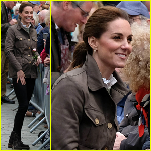 Duchess Kate Middleton & Prince William Visit Area Where She Vacationed as a Child!