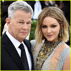 Katharine McPhee & David Foster Get Married in London!