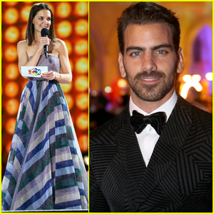 Katie Holmes & Nyle DiMarco Arrive in Style for Final Life Ball in Vienna!