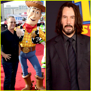 Keanu Reeves Joins His 'Toy Story 4' Co-Stars at L.A. Premiere!