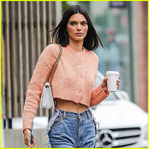 Kendall Jenner Looks Picture Perfect While Picking Up Coffee