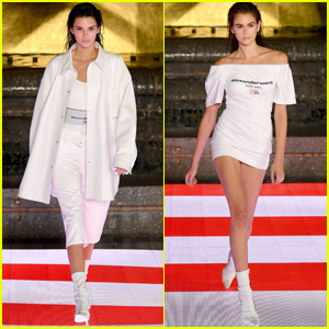 Kendall Jenner & Kaia Gerber Hit the Runway for Alexander Wang Collection 1 Show