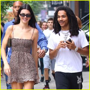 Kendall Jenner Meets Up With Luka Sabbat in NYC