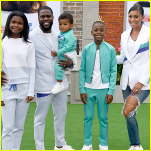 Kevin Hart is Joined by Wife Eniko Parrish & Their Kids at 'Secret Life of Pets 2' Premiere!
