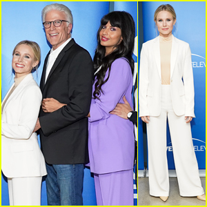 Kristen Bell Reunites With 'The Good Place' Cast After Season 4 End Announcement!