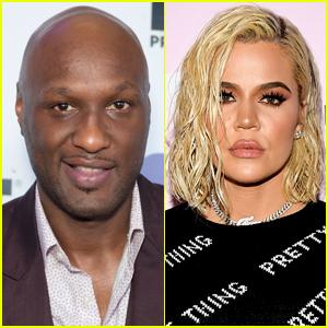 Khloe Kardashian Comments on Lamar Odom's Instagram Account