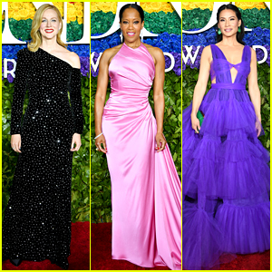 Presenters Laura Linney, Regina King, & Lucy Liu Glam Up for Tony Awards 2019!