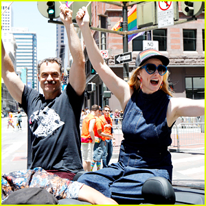 Laura Linney & 'Tales of the City' Cast Serve as Grand Marshals for SF Pride Parade!