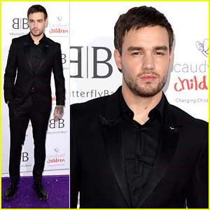 Liam Payne Looks Sharp in All Black at Butterfly Ball 2019