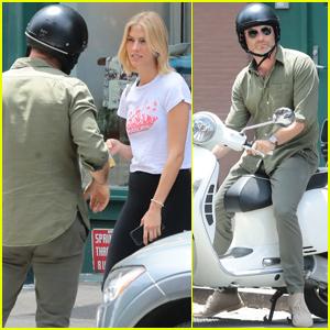 Liev Schreiber Meets Up With Girlfriend Taylor Neisen in ...