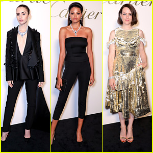Lily Collins, Ella Balinska & Claire Foy Celebrate The Launch Of Cartier's Magnitude Jewelry
