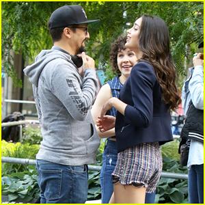 Lin-Manuel Miranda & Melissa Barrera Kick Off 'In The Heights' Production!