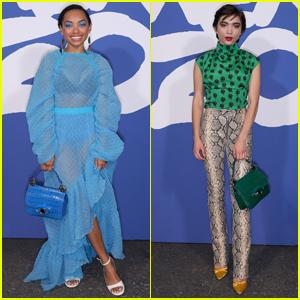 Logan Browning & Rowan Blanchard Arrive in Style for Kenzo Fashion Show