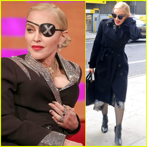 Madonna Promotes New Album 'Madame X' in London!