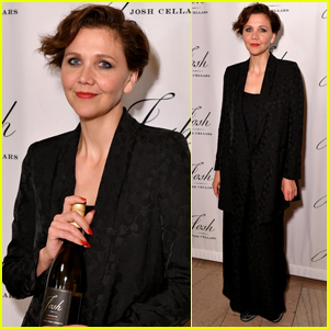 Maggie Gyllenhaal Steps Out for Josh Cellar's Father's Day Event!