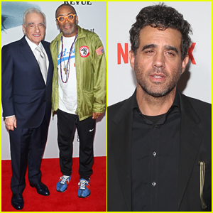 Martin Scorsese Gets Support from Spike Lee at 'Bob Dylan Story' Premiere!