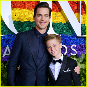 Matt Bomer Brings Son Henry with Him to Tony Awards 2019!