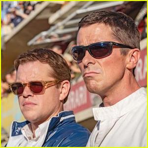 Christian Bale & Matt Damon Unite in First 'Ford v Ferrari' Trailer - Watch Now!