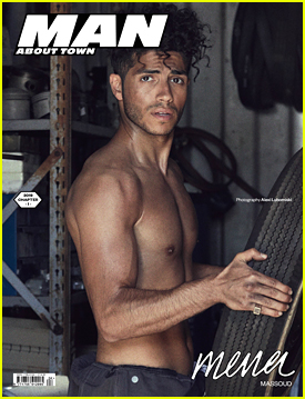 Mena Massoud Opens Up About Feeling Like An Outcast With 'Man About Town' Magazine