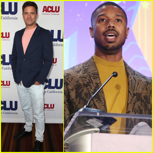 Michael B. Jordan & Joshua Jackson Honor Central Park Five at ACLU Luncheon