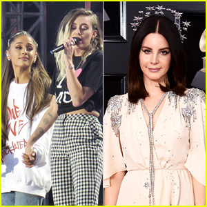Ariana Grande & Miley Cyrus Team Up With Lana Del Rey For 'Charlie's Angels' Soundtrack