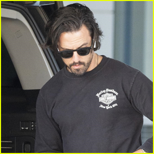 Milo Ventimiglia Keeps Things Cool for His Flight Into NYC
