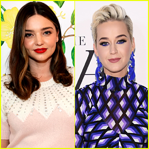 Pregnant Miranda Kerr Poses With Ex-Husband Orlando Bloom's New Fiancee Katy Perry!