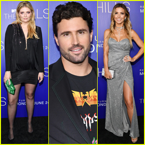 Mischa Barton, Brody Jenner, & Audrina Patridge Step Out for 'The Hills' Premiere!