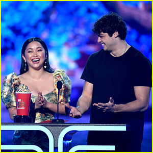 Noah Centineo Thanks Lana Condor's Lips While Winning Best Kiss at MTV Movie & TV Awards 2019 (Video)