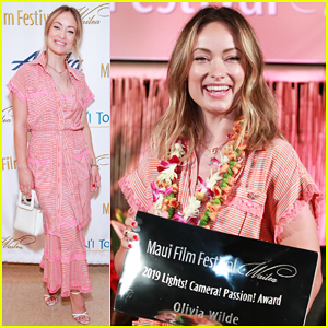 Olivia Wilde Honored at Final Night of Maui Film Festival!