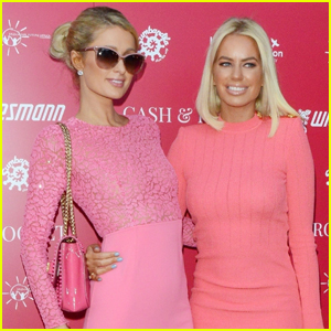 Paris Hilton & Caroline Stanbury Go Pretty in Pink for Cash & Rocket Event!