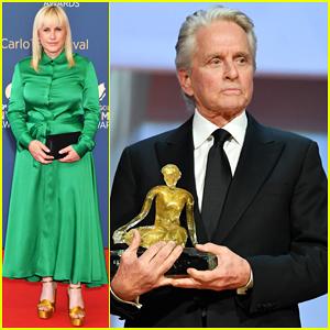 Patricia Arquette & Michael Douglas Win Big at Monte Carlo TV Festival Closing Ceremony!