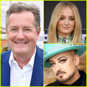Piers Morgan Slams Idea of Sophie Turner Playing Boy George