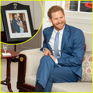Unreleased Prince Harry & Meghan Markle Photo Seen Inside Palace Today!