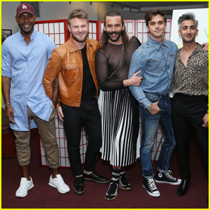 'Queer Eye' Fab Five Step Out for FYC Screening!