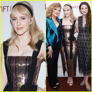 Rachel Brosnahan Joins 'Mrs. Maisel' Co-Stars at Designing Women Awards 2019