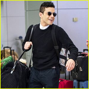 Rami Malek Is a Well-Dressed Traveler - See New Airport Pics!